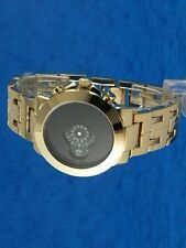Anni'60'70 insolito futuristica SPACE AGE RARE OLD STYLE MODERNO DISC DISK WATCH 82