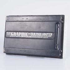 `Graflex Large Format 4X5 Graphic Film Pack Adapter