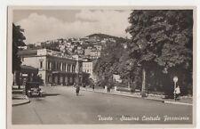 Italy, Trieste, Stazione Centrale Ferroviaria RP Postcard, B408