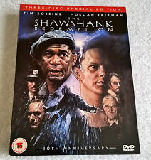 The Shawshank Redemption (DVD, 2004, 3-Disc Set) - Three-Disc Special Edition