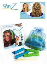 Hair WavZ DIY Curls Waves Curlers Tool Styling Rollers Kit Beach Style Spiral