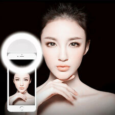 Portable Selfie LED Phone Camera Ring Light For IPhone Pad Laptop makeup
