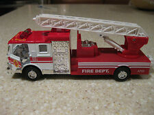 FIRE DEPT RESCUE ENGINE TRUCK LADDER HOSE SIGHT SOUND PULL BACK A700 LIONEL