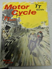 Motor Cycle Magazine, June 10, 1965, TT Guide, Sidecars at Brands,  blue box 1