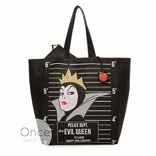 Primark DISNEY VILLAINS EVIL QUEEN Faux Leather Large Tote Shoulder Bag