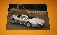 Lotus Esprit se 1991 folleto brochure Catalogue depliant prospetto prospecto