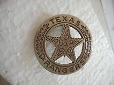 Texas Ranger Company A Law Badge