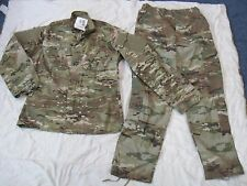 NEW US ARMY ISSUE MULTICAM UNIFORM SHIRT & PANTS SET SZ  MEDIUM SHORT