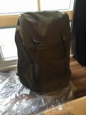 "C6 Olive Canvas Heavy Duty Large Backpack 15""17"" Day Pack Travel Laptop Bag £170"
