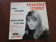 FRANCOISE HARDY J'suis D'Accord French Ep