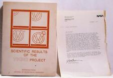 1976 Scientific Results Of The Viking Project Nasa Space Geophysical Research