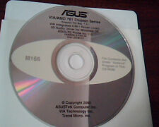 CD ASUS VIA/AMD 761 Chipset Support CD 7.11 VIA Integrated Driver Probe M166