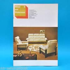 DDR Möbel und Wohnraum 6/1981 Fachzeitschrift Garniturküche Modell 2050/4 Brno