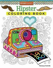 Hipster Coloring Book by Thaneeya McArdle (2014, Paperback)