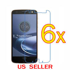 6x Clear LCD Screen Protector Guard Cover Film For Motorola Moto Z Force