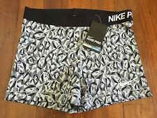 Nike Ladies Pro Combat 3 Inch Compression Shorts Gym Training Running Size 14 L