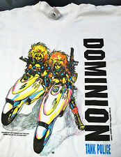 DOMINION TANK POLICE VINTAGE CLOTHING LICENSED T SHIRT ANIME KAWAII FASHION 90's