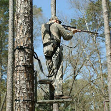 FULL BODY HUNTING SAFETY HARNESS FOR Climber Lounge Fixed Lock On Tree Stand