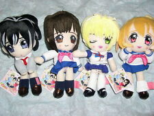 Banpresto 100% Ichigo Girl Plush Figure Set 4 pcs Set Part 1