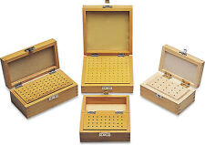 100 Hole Wood Box, 5-1/2in X 5-1/2in