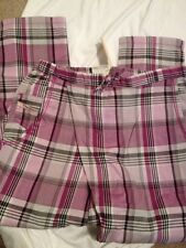 BNWT Diesel Girls Praba Pantalone Checked Trouser. Age 6 Years RRP £75 REDUCED!!