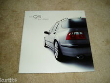 2002 Saab 9-5 Wagon Sportwagon Linear Arc Aero sales brochure dealer literature