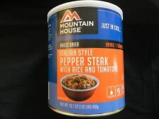 1 Can Italian Style Peper Steak - Mountain House Freeze Dried Emergency Food