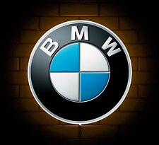 BMW BADGE SIGN LED LIGHT BOX MAN CAVE GARAGE WORKSHOP GAMES ROOM BOYS GIFT M3 M5