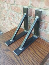 "Thick 2"" Wide Triangle Shelf Mantle Brackets 10""x10"" - Each Bracket Sold Seperat"