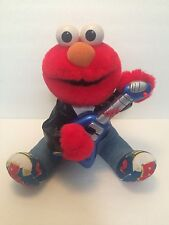 SESAME STREET ROCK AND ROLL ELMO ELECTRONIC MUPPET PLUSH