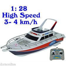 Kids Children RC Boat Ship Radio Wireless Control Boat Racing High Speed 3 CH