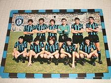 CARTOLINA CALCIO SQUADRA INTER F.C. INTERNAZIONALE 1978/1979  MATCH VS. COMO
