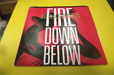 rare 80s australian  45 lthe black sorrows fire down below gold ptd promo cover