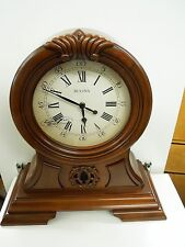 "BULOVA  MANTEL CLOCK -""THE MARLBOROUGH"" - WITH HARMONIC CHIMES B1998"