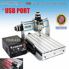 USA!USB port 4 Axis ballscrew 3040 CNC Router engraver engraving milling machine