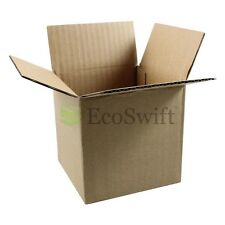 50 4x4x4 Cardboard Packing Mailing Moving Shipping Boxes Corrugated Box Cartons