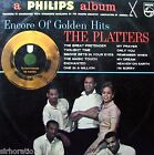 The PLATTERS Encore Of Golden Hits LP