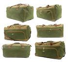Travel Luggage Leather Holdall Duffel Bag Travel Flight Bag Case Shoulder Strap