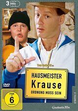 HAUSMEISTER KRAUSE STAFFEL 2  3 DVD NEU  TOM GERHARDT/AXEL STEIN/+
