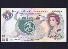 Isle of Man 10  Pounds  1983  P-42  VF  (SIG 2)