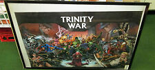 TRINITY WARS POSTER COLLECTABLE  MARVEL DC COMICS LIMITED PRODUCTION RUN