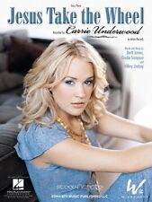 Jesus Take the Wheel Sheet Music Easy Piano Carrie Underwood NEW 000110147