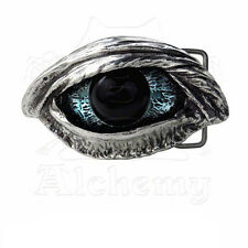 Belt Buckle Boucle de ceinture Alchemy Gothic The Vulture's Eye Raven Gothique