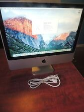 "Apple iMac A1224 20"" C2D 2.4GHz Computer 2GB 250gb WiFi OS X 10.11 El Capitan"