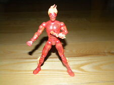 "2002 Marvel Legends Toy Biz The Human Torch Fantastic Four 6"" Loose Figure"