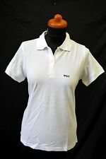 "B&C for Woman Polo Shirt Top Golf Mode ""Birdie"" Weiß Gold Gr. M 59,- D-1445"