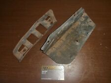 1975 75 Yamaha DT 250 DT250 Enduro Engine Side Heat Guard Panel Cover Metal Set
