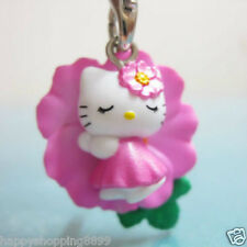 Multi-Color Unbranded Universal Hello Kitty Phone Charm w Strap&Bell HK045 -2CM