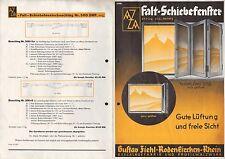 RODENKIRCHEN, Prospekt 1937, Gustav Ziehl Beschläge-Fabrik Profil-Walz-Werk