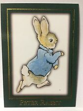 1996 Tempo Beatrix Potter Trading Cards CH1 Peter Rabbit Character Card